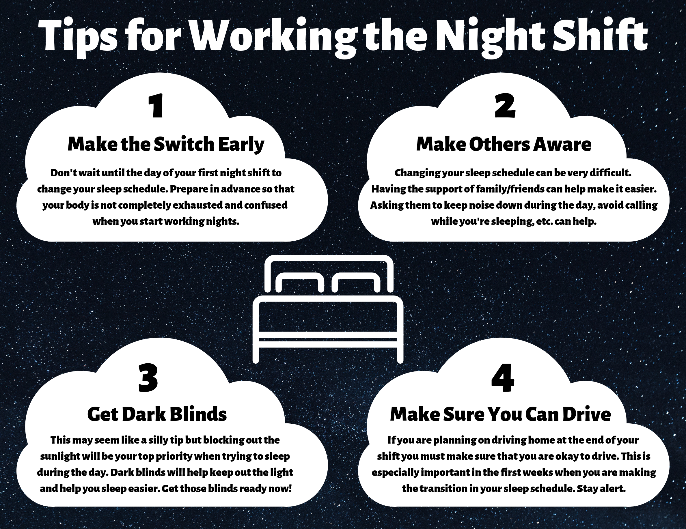 Tips for Working the Night Shift