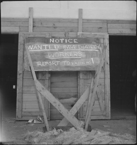 San_Bruno,_California._-Help_Wanted-_sign_displayed_for_newly_arrived_evacuees._There_was_much_wo_._._._-_NARA_-_537668