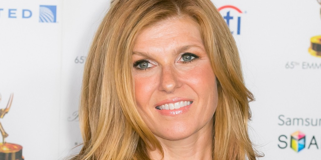 Connie Britton worked at a women's clothing store before making her TV debut.