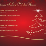Breakaway Staffing Holiday Hours