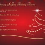 Breakaway Staffing Holiday Hours